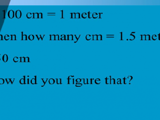 How many centimeters in a meter