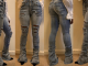 Stacked jeans