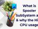Spooler subsystem app
